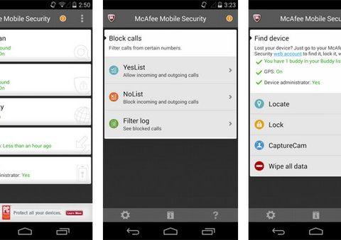 Антивирус McAfee Mobile Security на Android