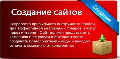 Создание сайта и его продвижение в Киеве