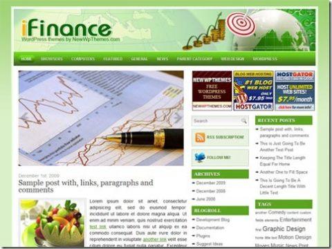 WordPress тема TechFront от Newwpthemes