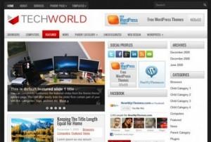 WordPress тема TechWorld