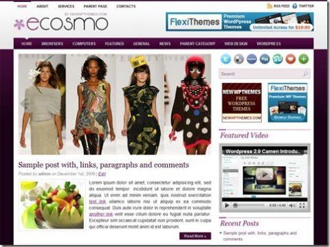 WordPress тема Topside от Newwpthemes