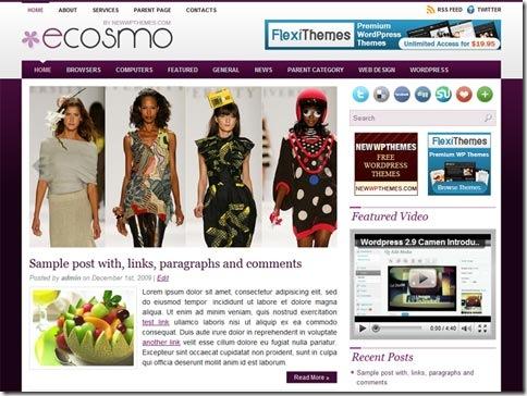 WordPress тема FinanceTime от Newwpthemes