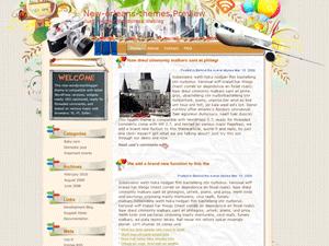 WordPress тема Vacations от Newwpthemes