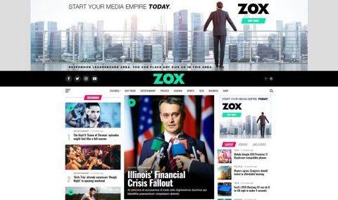Журнальная новостная тема TimeNews для WordPress