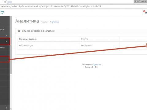 Настройка целей в Google Analytics для OpenCart
